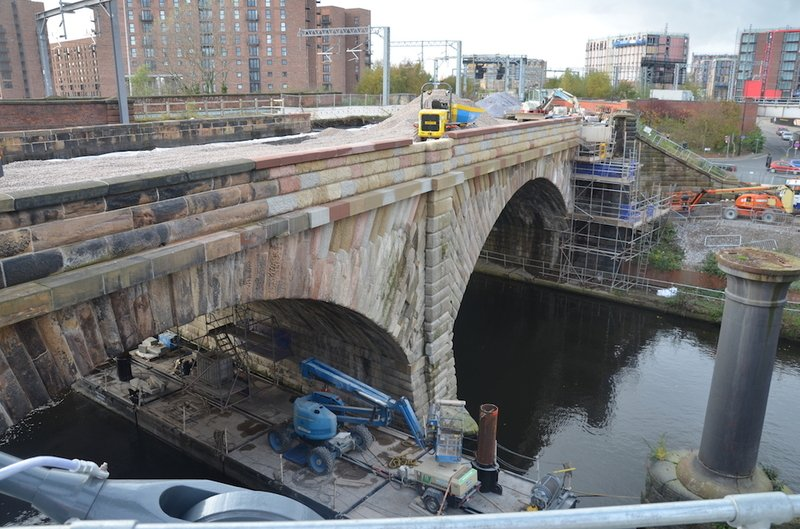 Sandstone Bridge Repair Work