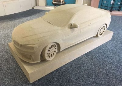 Sandstone Car by Cumbrian Stone