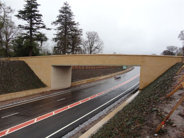 new Buff Sandstone Bridge by Cumbrian Stone