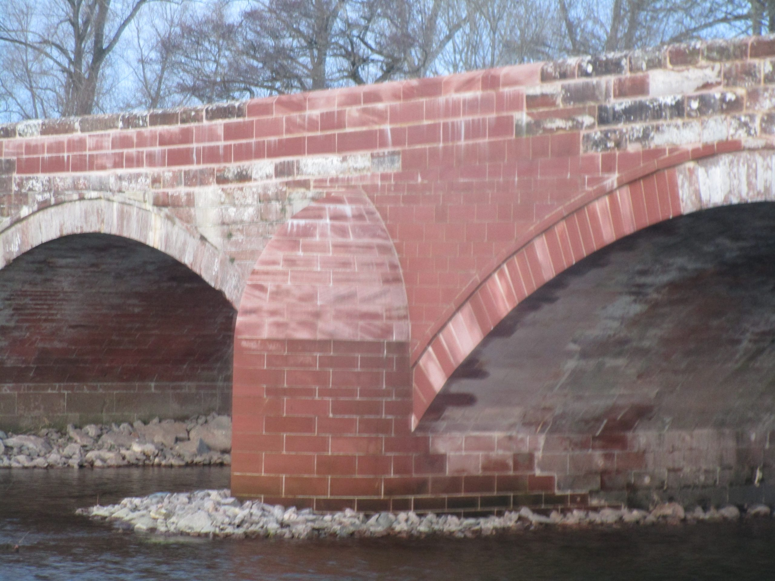 Lazonby Sandstone Bridge Repairs by Cumbrian Stone